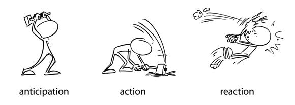 Image result for anticipation animation | Cómic digital, Diseño de ...