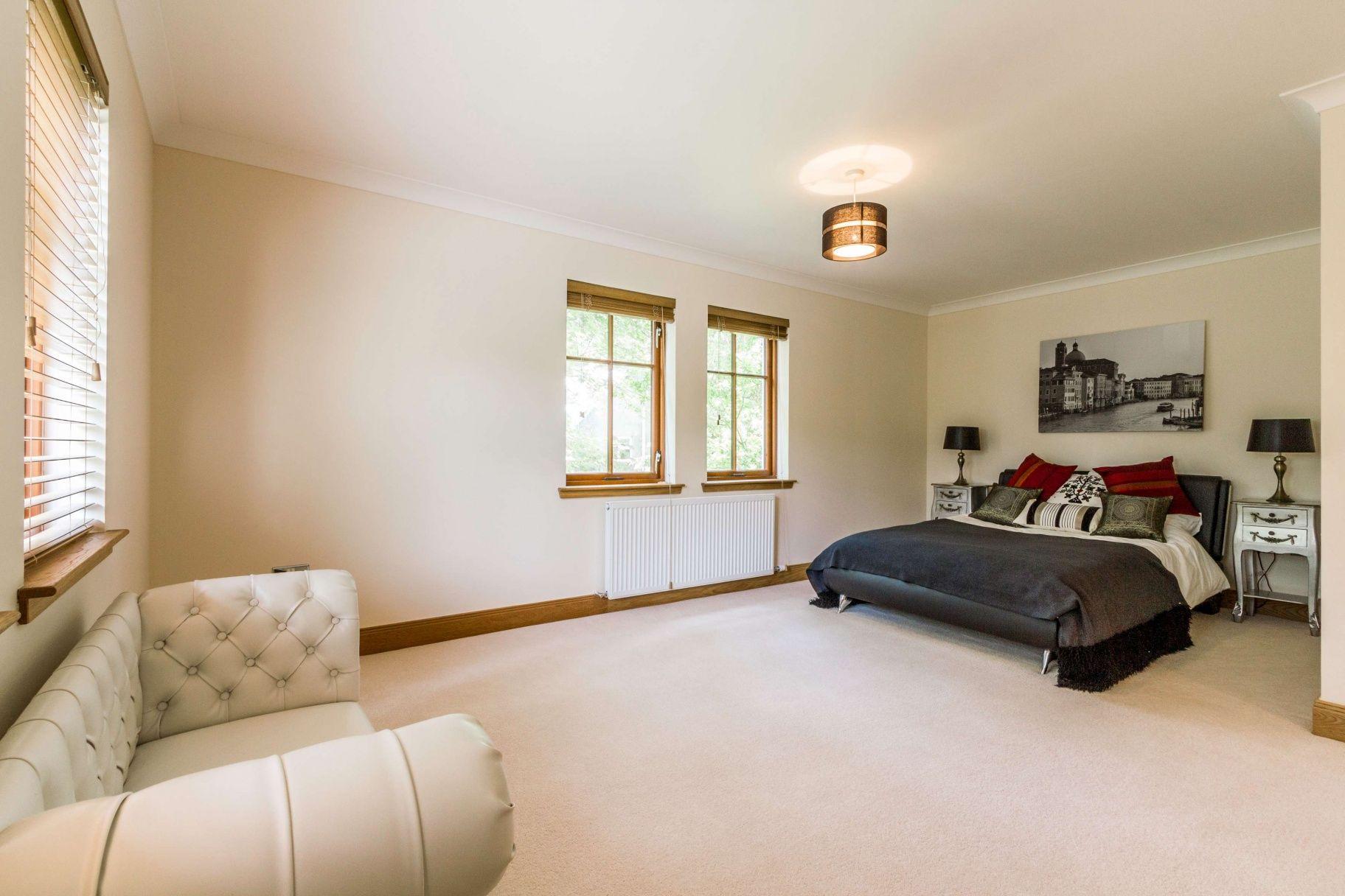 Edinburgh Luxury Homes Detached House Bedroom