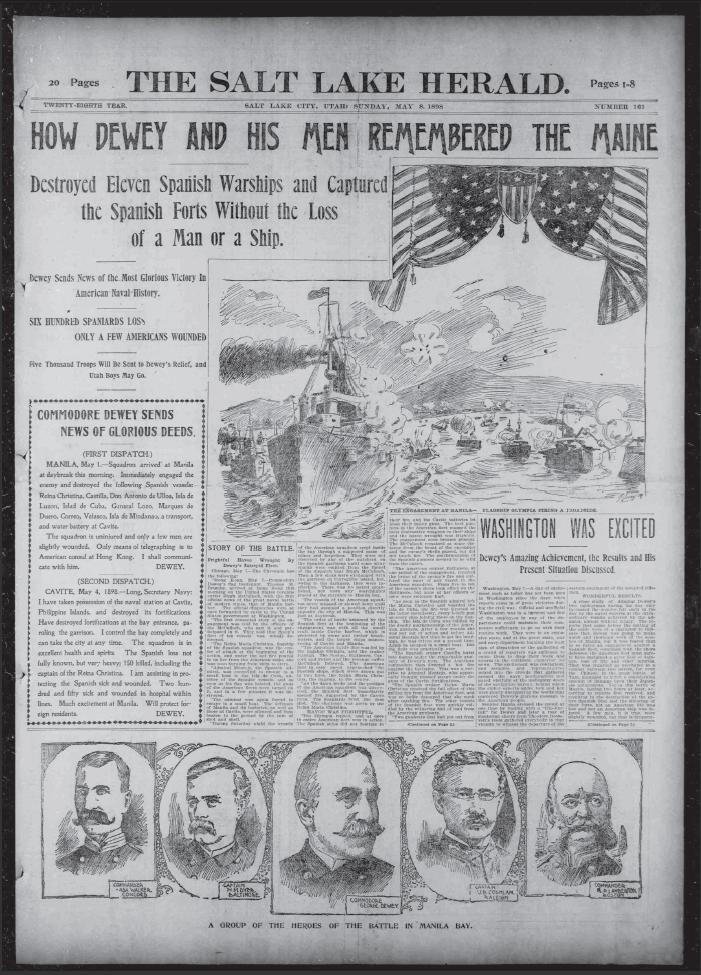 Spanish American War Records Newspapers William Randolph