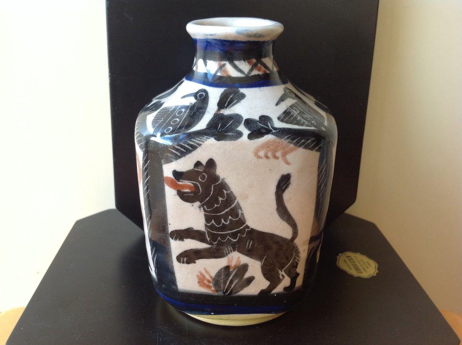 Ceramica raro vaso i c s di max melarson vietri dolker