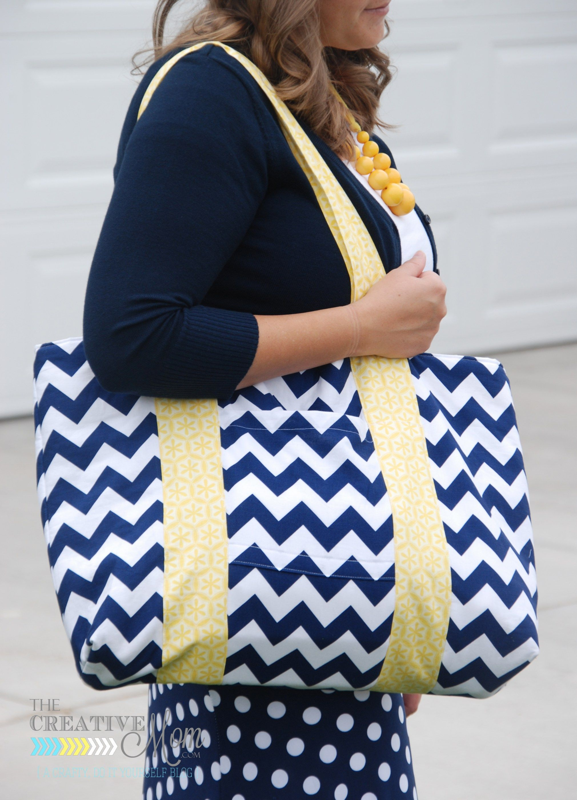 One of my new favorite online shops is The Ribbon Retreat. I was so excited to be able to pick out some fabric to sew a new bag with. They have such amazing designer fabric, and I bet I spent a goo…
