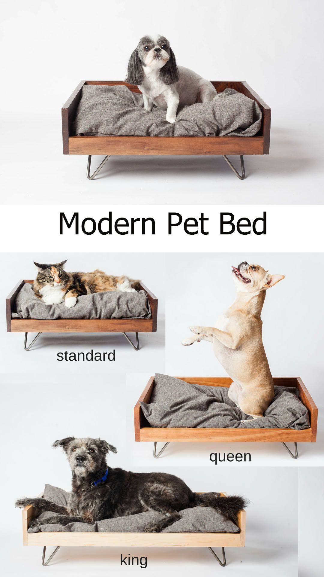 Modern Pet Bed Ad Dog Dogs Pets Dogbed Handmade Etsy