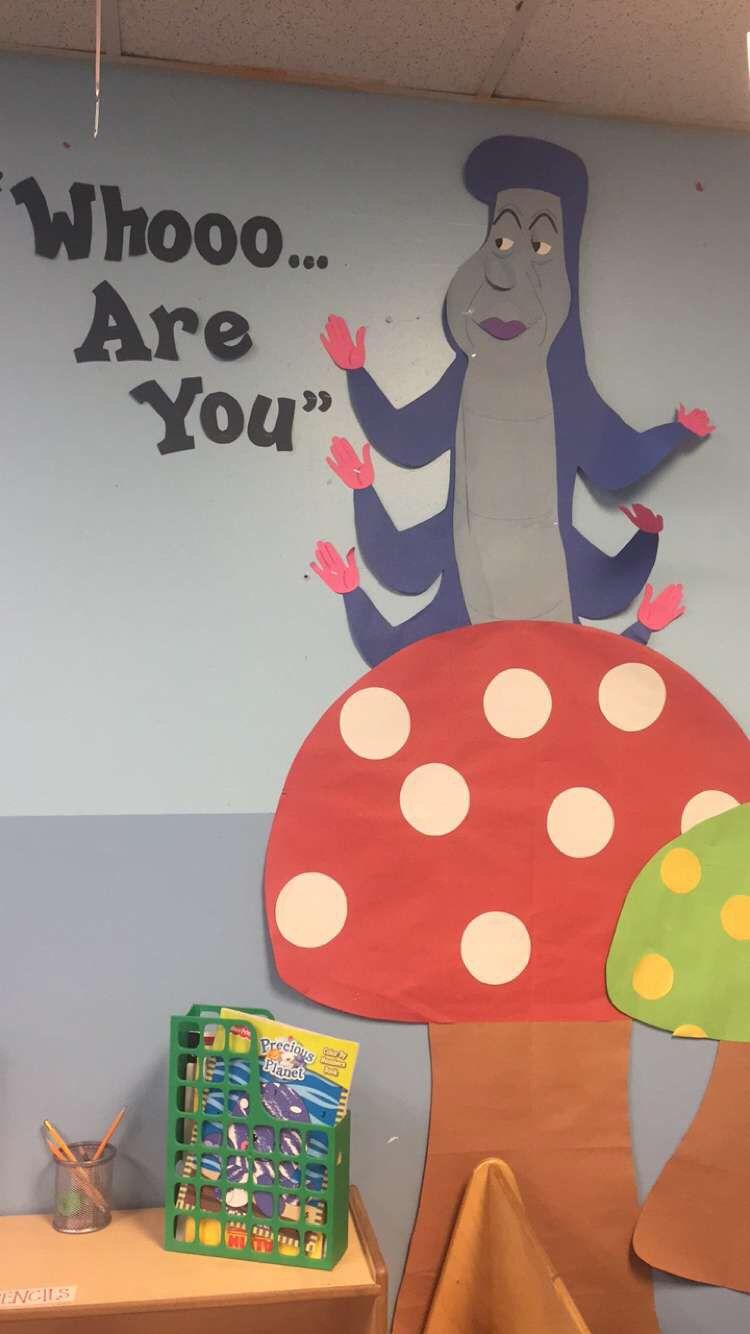Alice in wonderland classroom decorations Alice in
