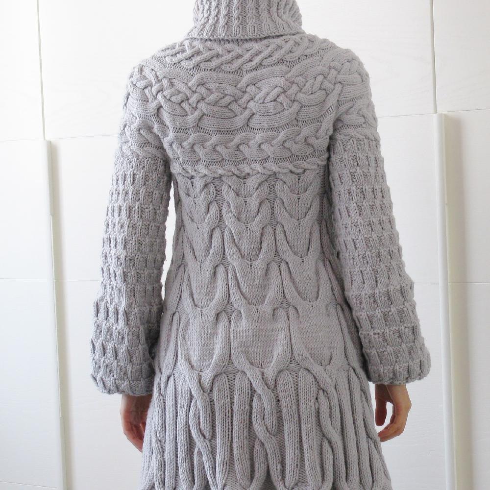Minimissimi Sweater Coat Knitting Pattern By Minimi Knit