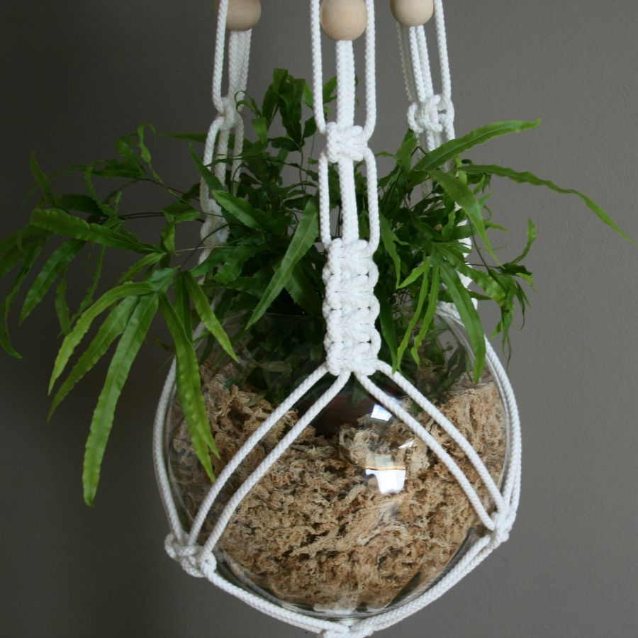 Uncategorized Macrame Patterns Plant Hanger the knot studio white macrame plant hanger hanger