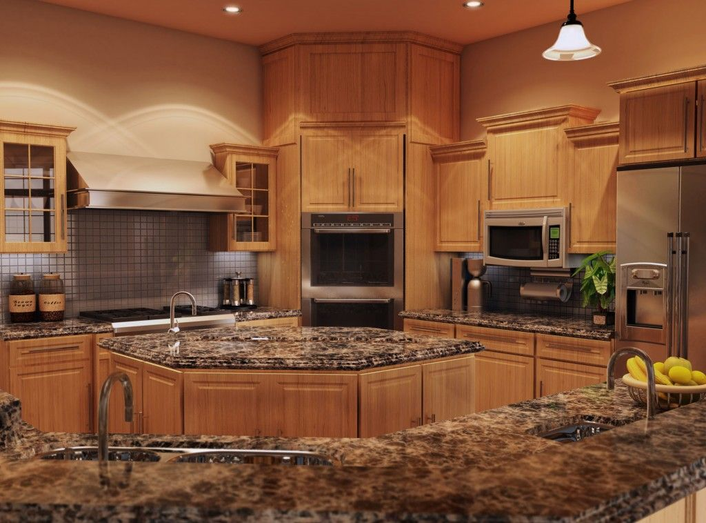Decoration Solid Surface Kitchen Countertops Countertops For Kitchen What To Choose Glass Tiles Kitchen Rustic Kitchen Backsplash Honey Oak Cabinets
