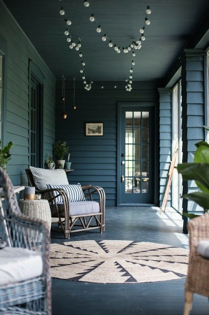 Jersey Ice Cream screened porch makeover after photo