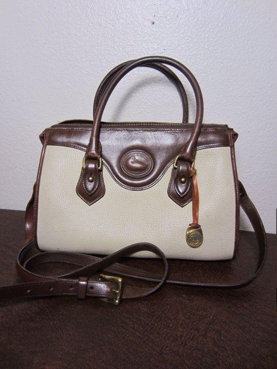 Vintage Dooney Bourke Sdy Bag Handbag Satchel By Aanabella