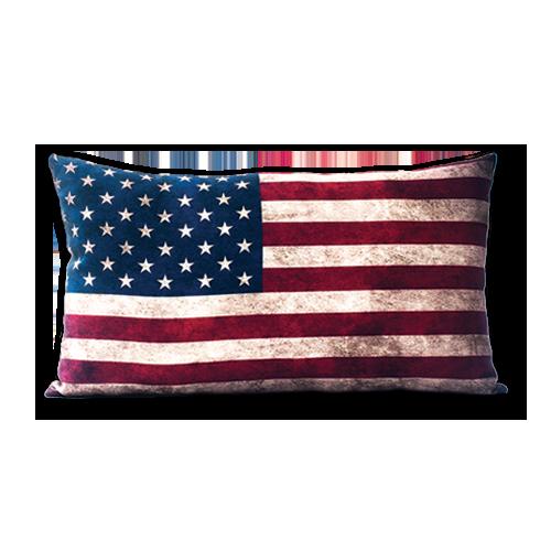 A405 Almofada Bandeira Estados Unidos Almofadas Artesanato Estados Unidos