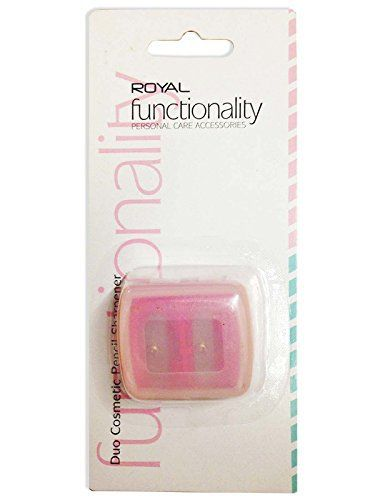 Royal Duo Cosmetic Pencil Sharpener - http://www.css-tips.com/product/royal-duo-cosmetic-pencil-sharpener/ #affiliate