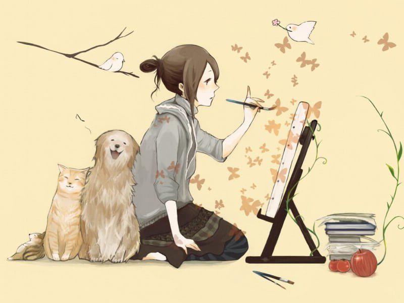 Mi Perro No Es Una Mascota Es Mi Familia Http Www Mujer Guru 2016 10 25 Perro No Una Mascota Familia Anime Puppy Princess Mononoke Wallpaper Anime