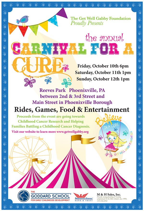 cancer fundraiser carnival flyer examples - Google Search