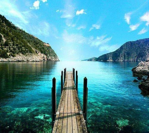 Imagine Prin We Heart It #amazing #beach #Greece #love