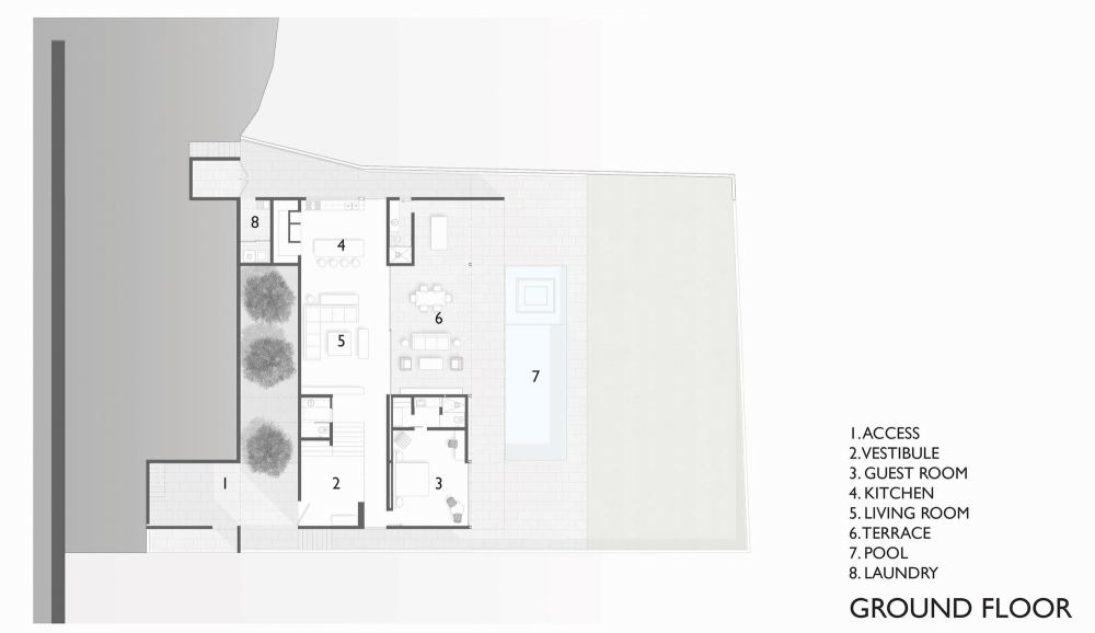 Gallery Of Mr House Jcname Arquitectos 18 House Floor Plans Floor Plans House Plans
