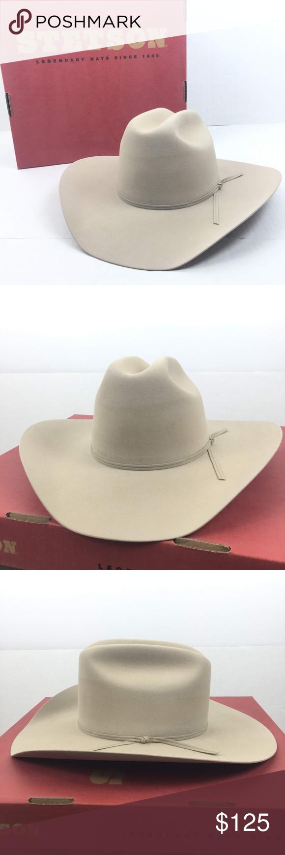 Stetson Size 7 1 8 Roper Special Cowboy Hat Cowboy Hats Stetson Cowboy