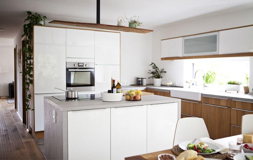 Add a kitchen island to create a sociable space | ikea | Pinterest ...