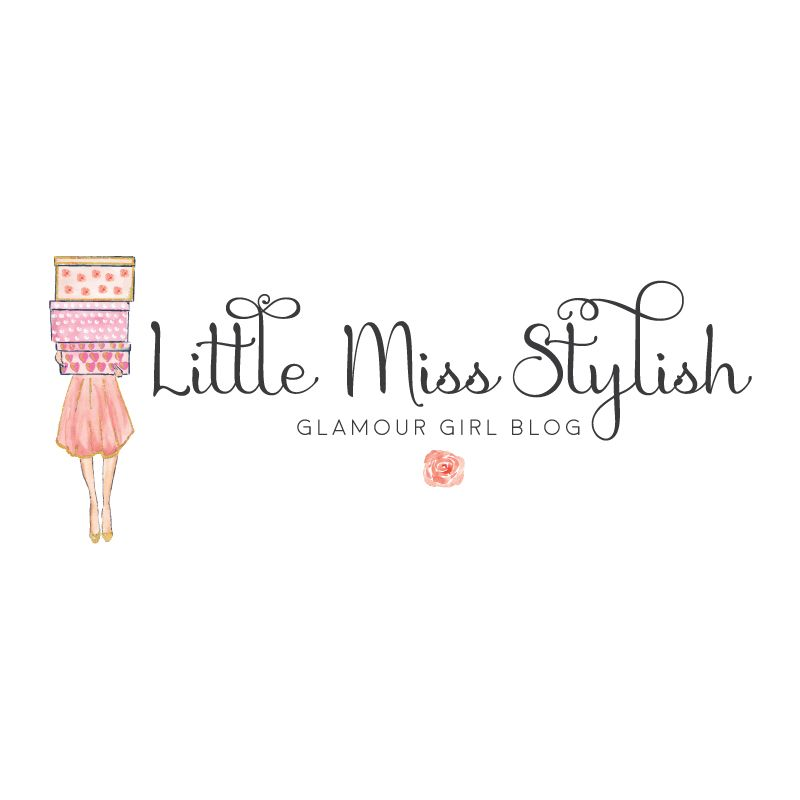 Shopping Girl Fashion Premade Logo Design