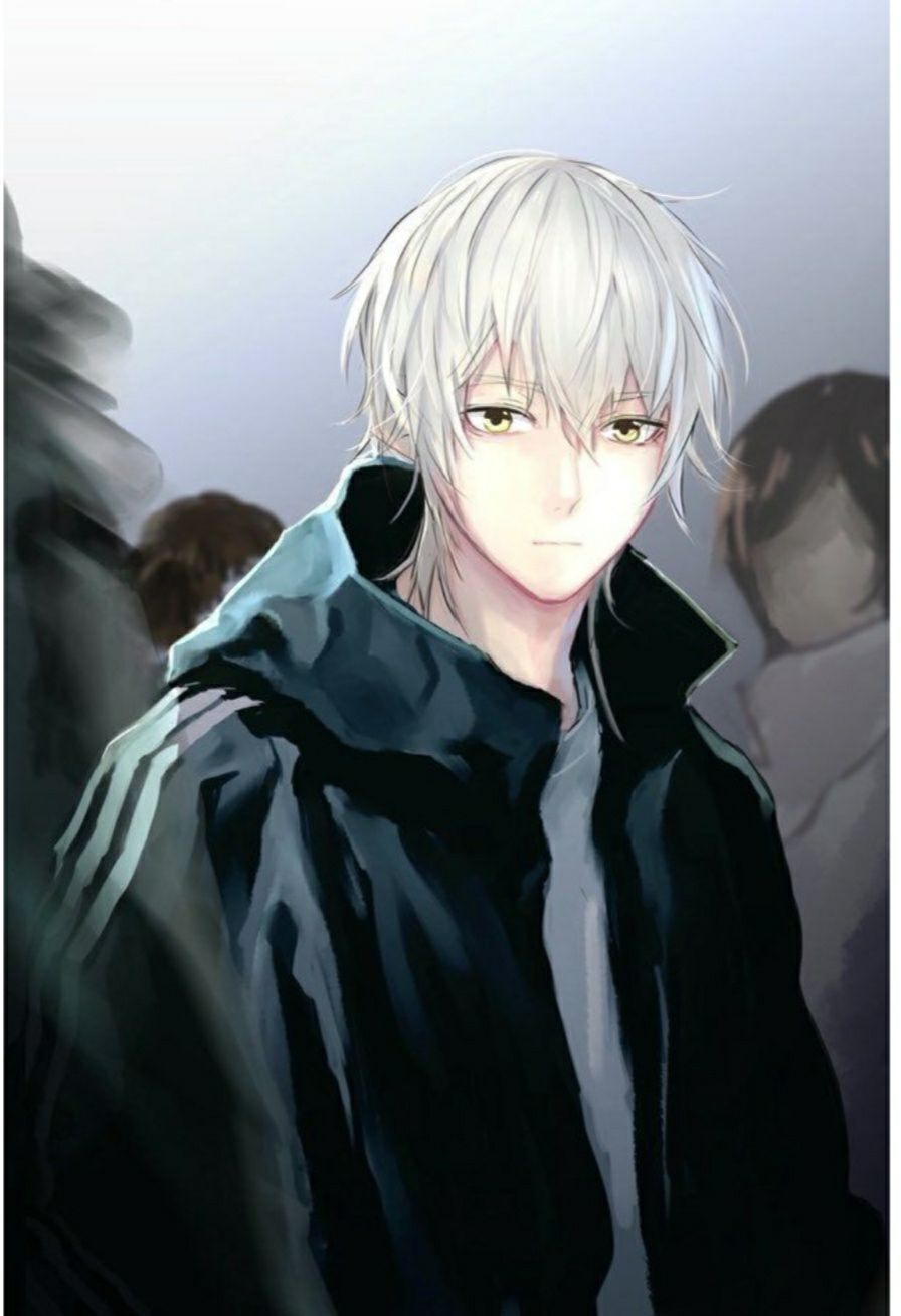 Otome Game You Re My Love I Will Not Fall In Love With You Again Anime Boy Hair Handsome Anime White Hair Anime Guy