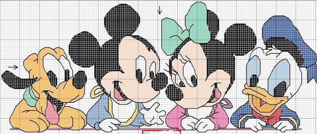 Patrones de punto de cruz Disney gratis | Manualidades 2 | Pinterest ...