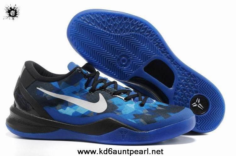sale retailer 5e7fe 4a34f Black Blue Shoes Womens Nike Kobe 8 Fashion Shoes Store