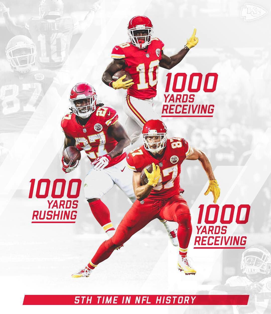 19 5k Likes 145 Comments Kansas City Chiefs Chiefs On Instagram Triple Threat C Kansas City Chiefs Kansas City Chiefs Football Kc Chiefs Football