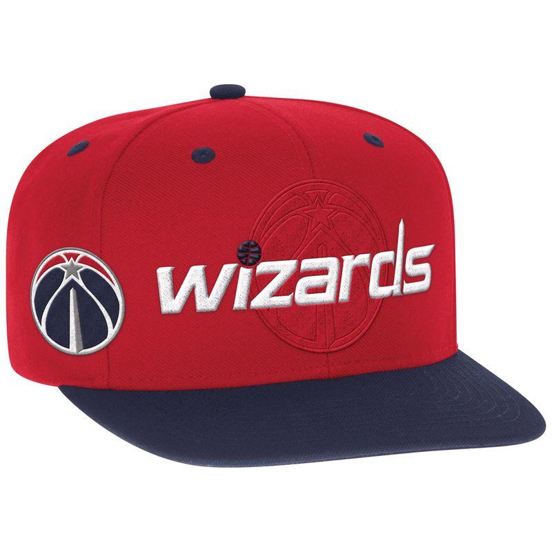 Washington Wizards adidas Youth 2016 NBA Draft Snapback Hat - Red ... 0c380b459c