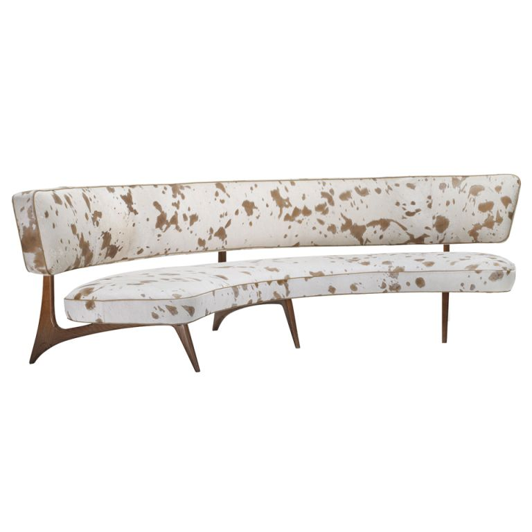 Curved Floating Sofa: Floating Curve Sofa By Vladimir Kagan United States 1952