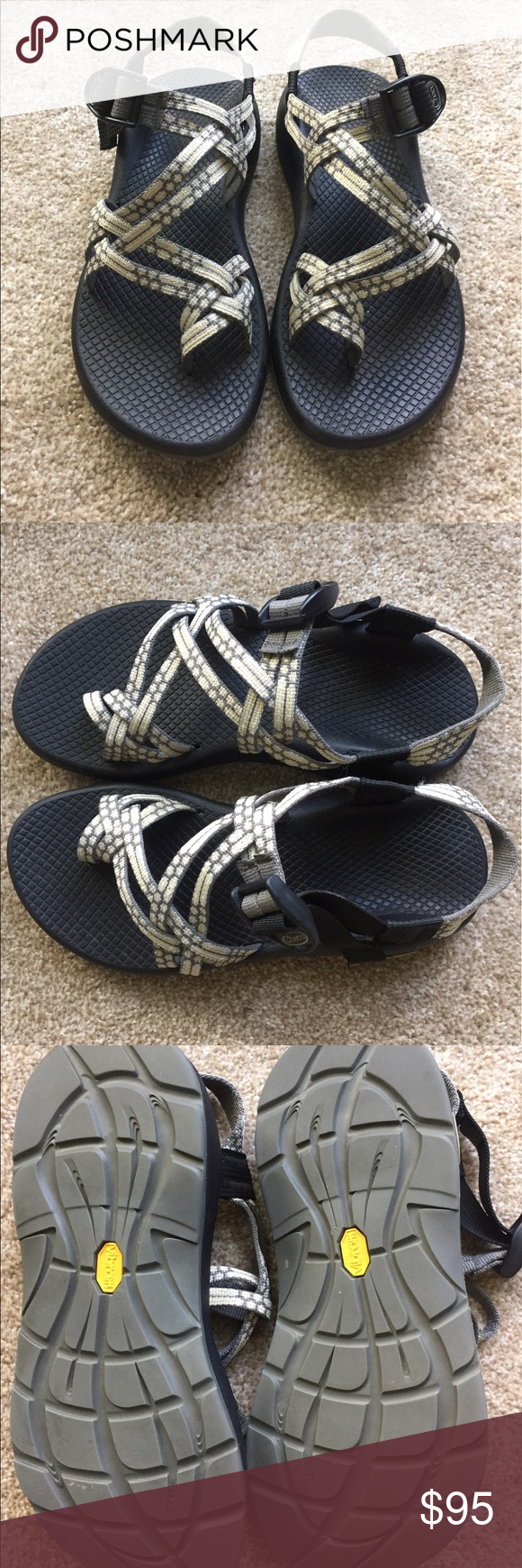 010a35bdac6b Chaco Sandals 7 double toe strap moonbeam Like new condition! I m open to  all offers ! Chaco Shoes Sandals