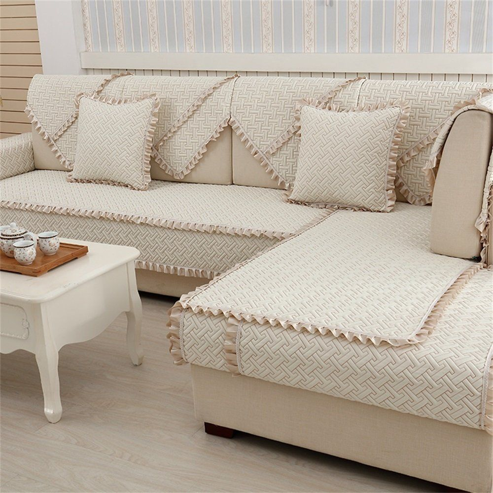 European Style Crystal Embroidery Sofa