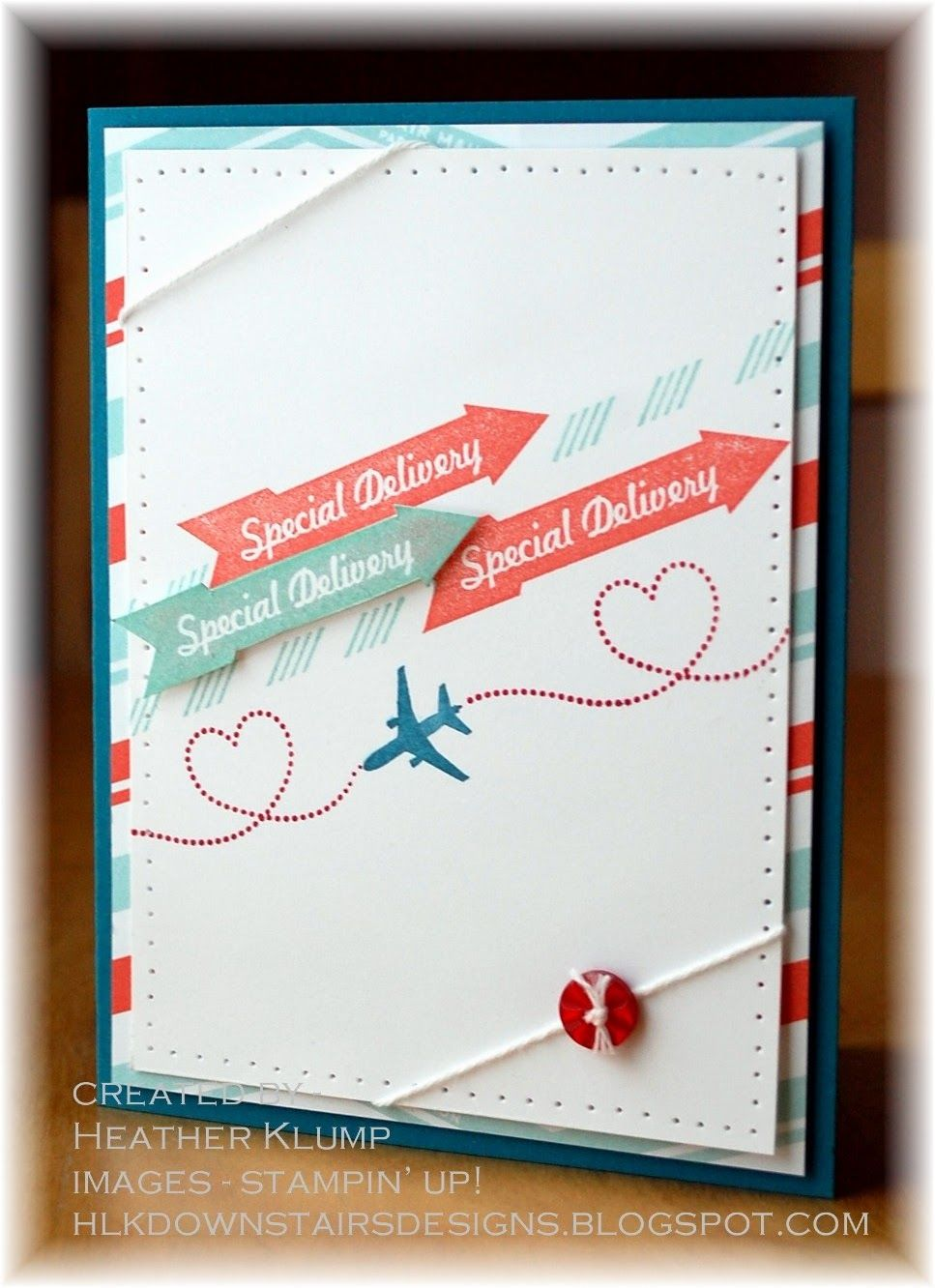 by Heather Klump, Downstairs Designs: Special Delivery