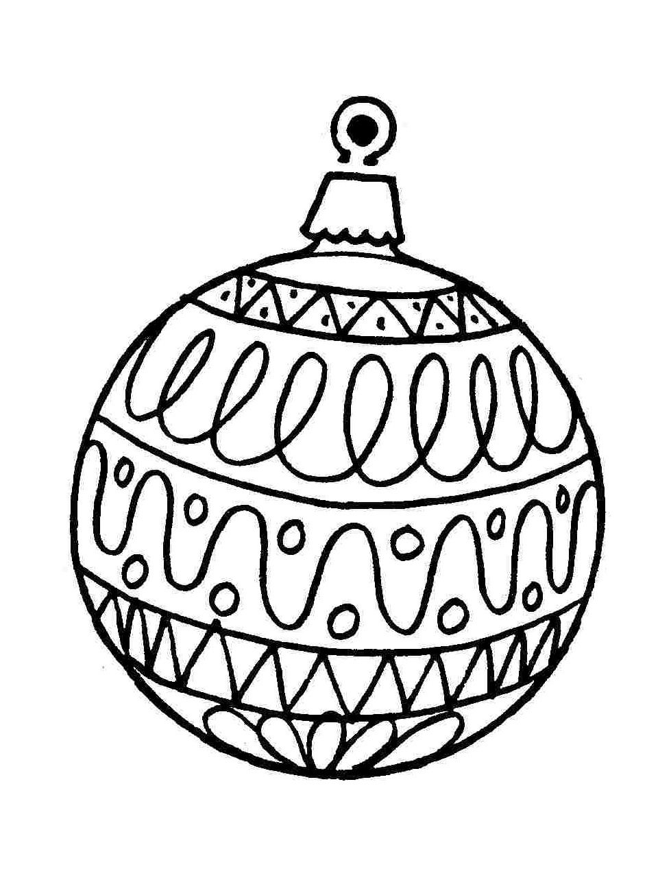 Vysledek Obrazku Pro Vanocni Ozdoby Kreslene Cernobile Obrazky