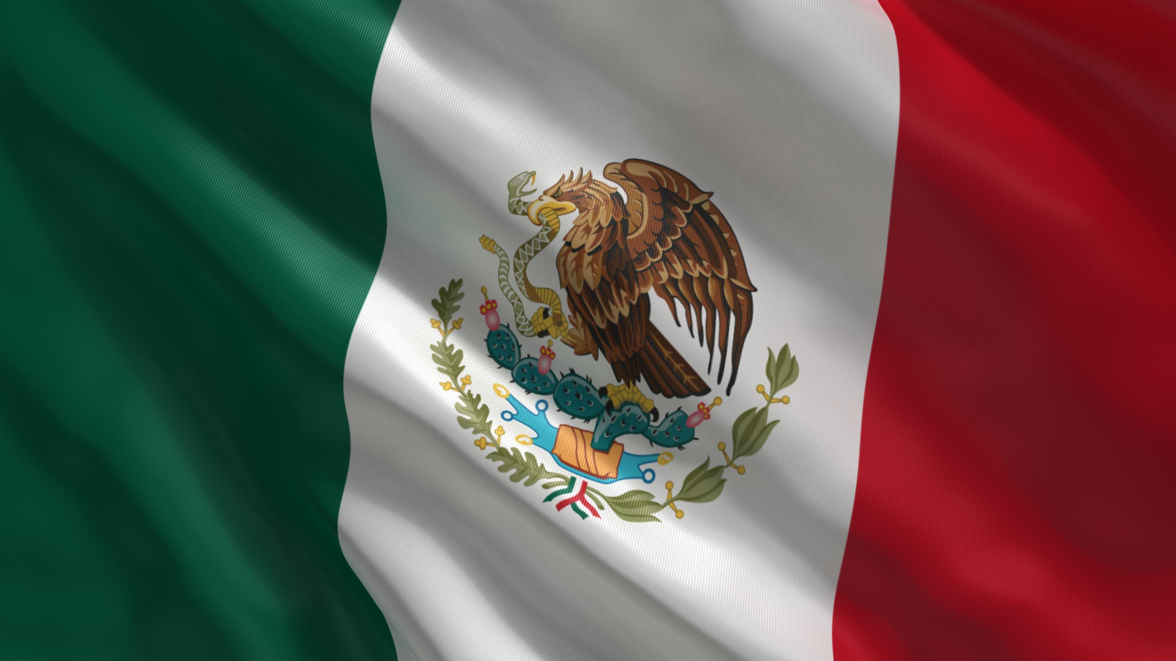 Bandera Mexico Wallpapers Hd