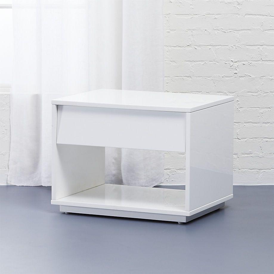 Best Shake Nightstand Cb2 Minimalist Decor Modern Bedroom 640 x 480