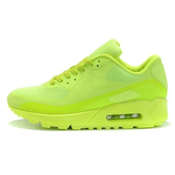 Shoes: neon yellow nike air nike airmax, neon, tidy