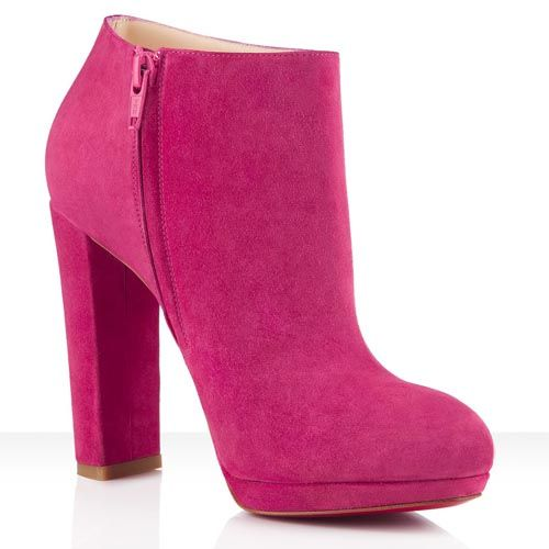 f4238ecd8e4 Christian Louboutin Rock And Gold Ankle Ankle Boots Suede 120mm ...