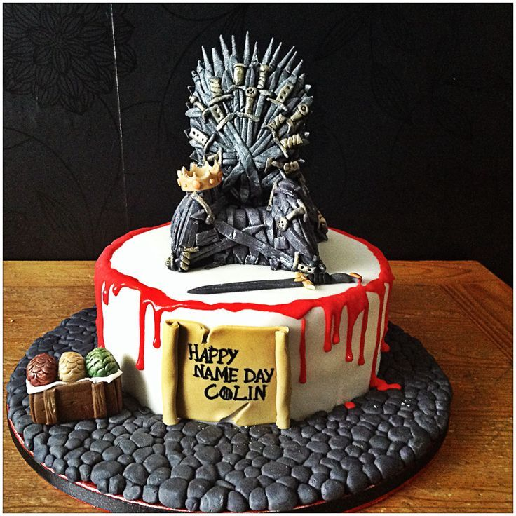 34 thrones of game cake ideas photo