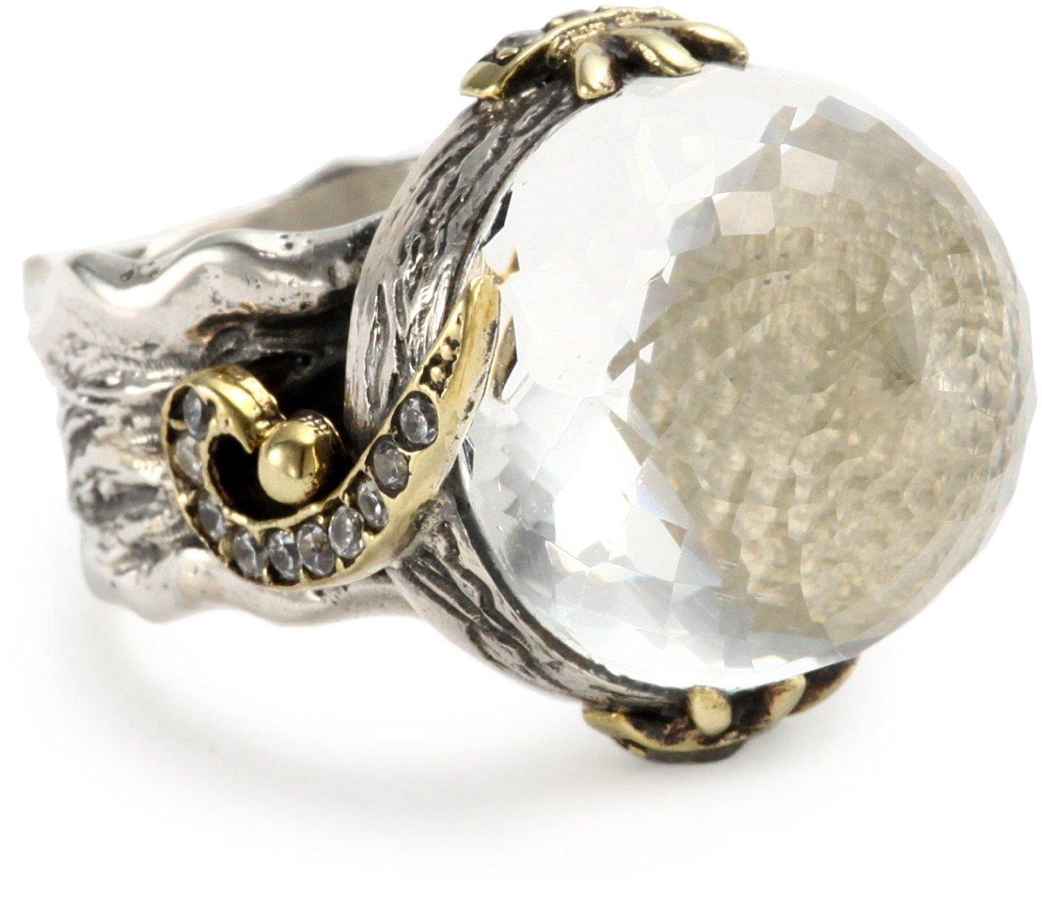 BORA Clear Quartz Bahar Ring Price 28500 Click on the image