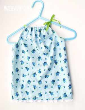 Sew your own baby sudresses and tops with this simple pillowcase dress pattern. These pillowcase inspired dresses are so easy to make!