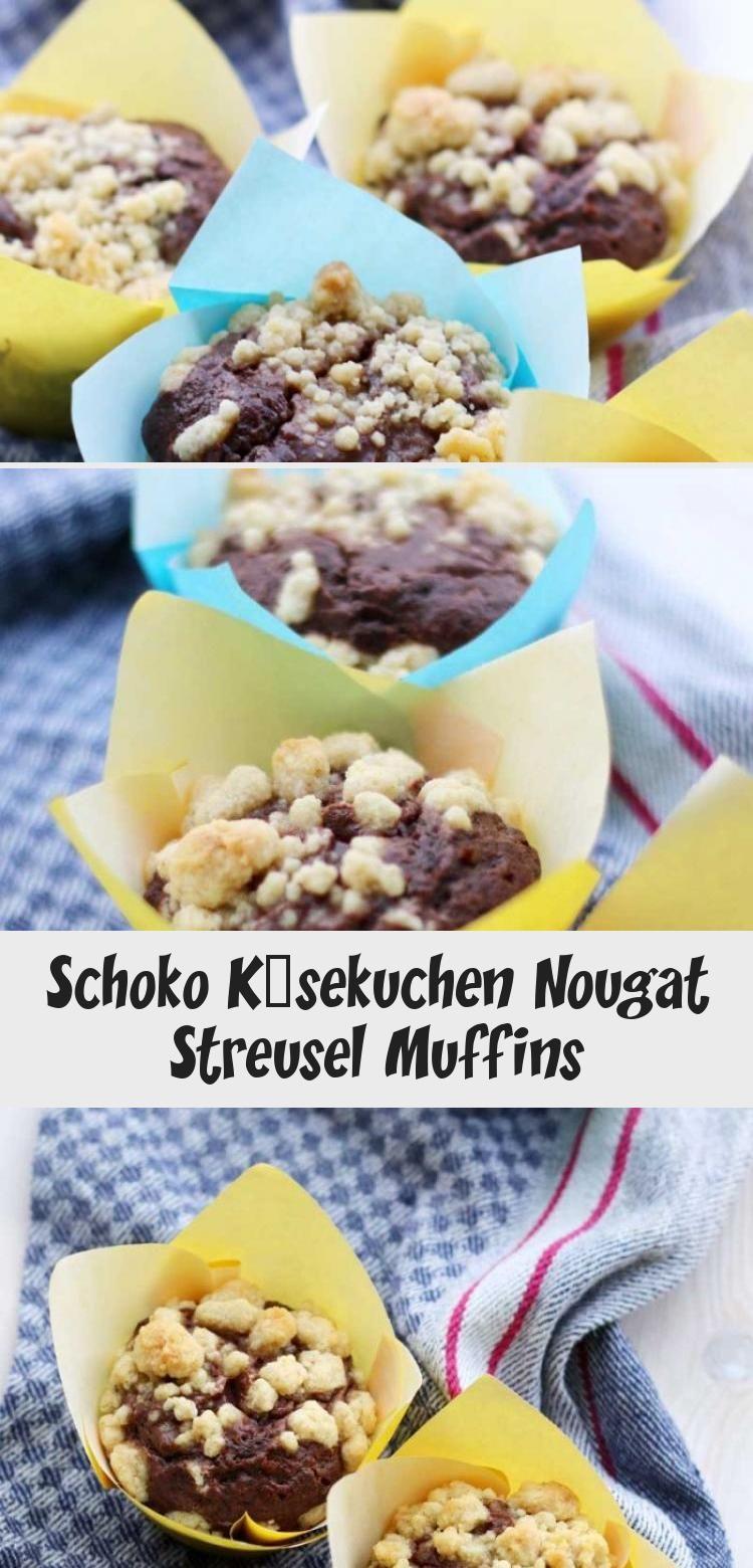 Schoko Käsekuchen Nougat Streusel Muffins –  Pin Boss