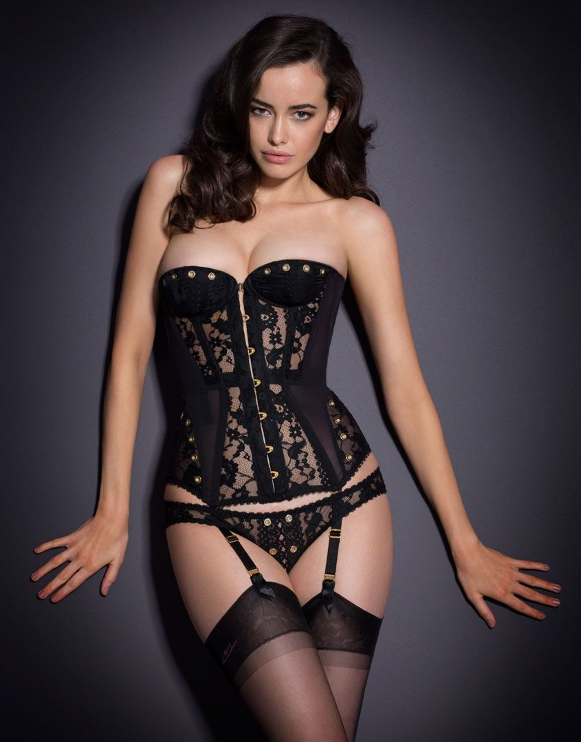 a4f92089f9 Stevie Corset. This update to our bestselling Mercy corset is crafted from  panels of intricate French lace
