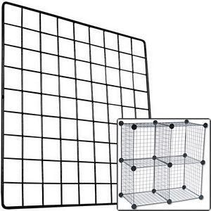 Grid Wire Storage Cube Panel
