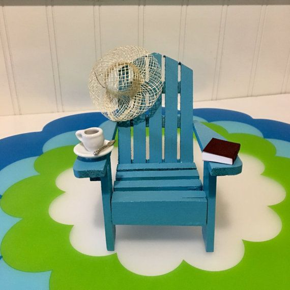 Beach Chairs Cakesdecor With Images Beach Themed Cakes