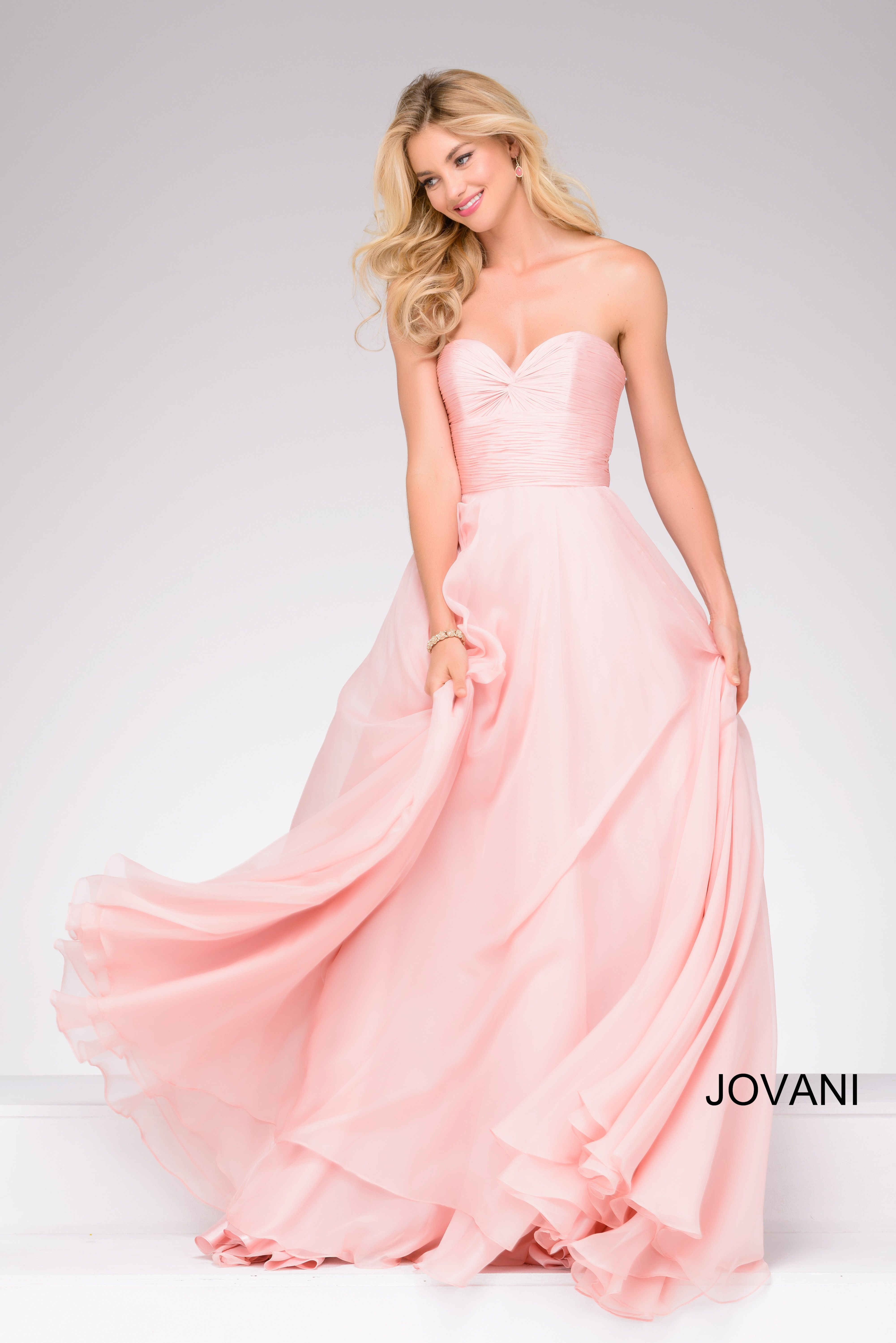 Look pretty in pink at prom 2k17 in Jovani 46060 available at ...