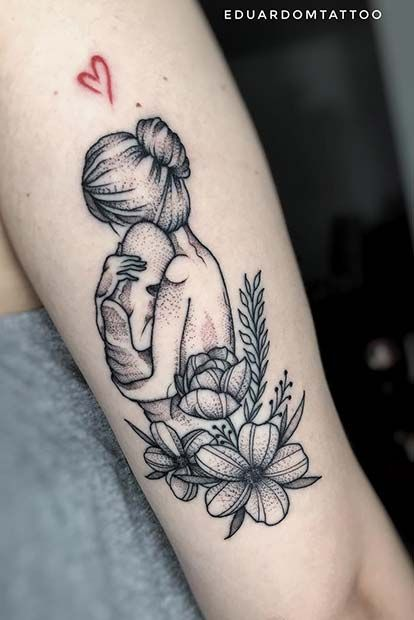 25 Perfect Tattoos for Moms That Will Make You Want One | Page 2 of 2 | StayGlam