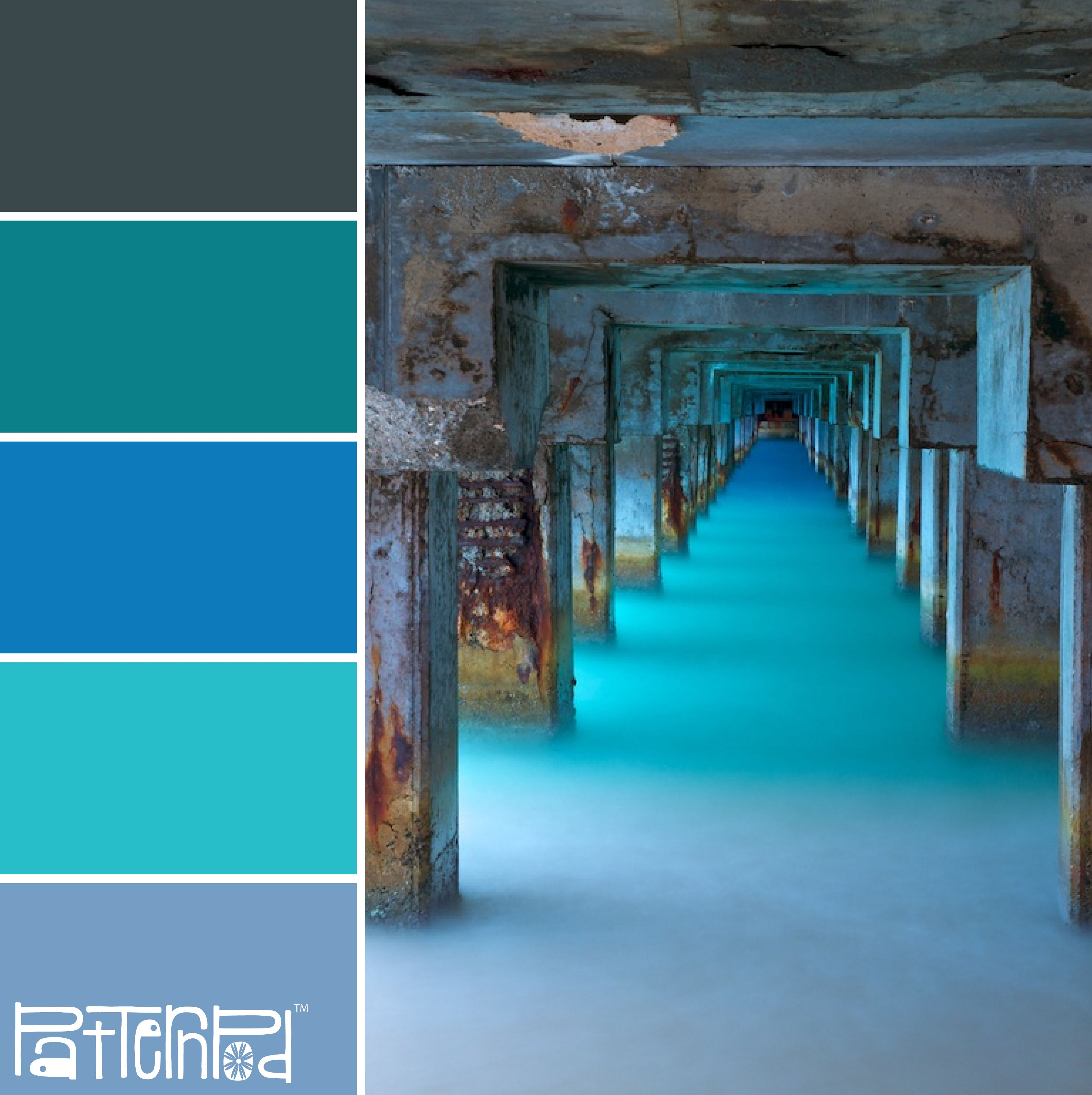 Cerulean Sea #Patternpod #Patternpodcolor #Color #Colorpalettes