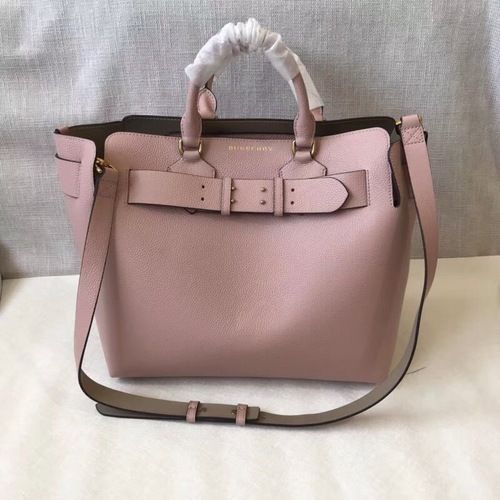 f97a1963d473 Burberry The Medium Leather Belt Bag Pal Ash Rose for sale at http