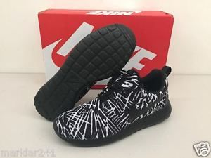 4575a1557ddab Women s NIKE ROSHE ONE PRINT Black   Black - White 599432 009  Women  Shoes   Nike  Roshe  Ladies  Shoe  Womens  Sneakers  Kicks  Footwear  Trainers   Ruers ...
