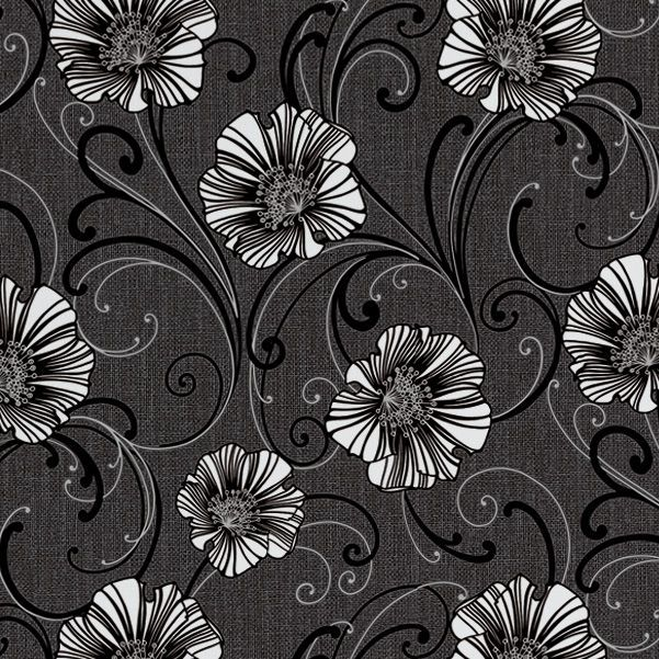 Black wallpaper black and silver wallpaper designs all wallpapers creation liberty dark grey white floral wallpaper bq for all your home and garden supplies and advice on all the latest diy trends mightylinksfo
