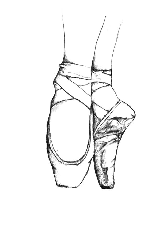 Practicing With Ballerina Shoes Coloring Pages Bulk Color Ballerina Shoes Ballet Shoes Coloring Pages