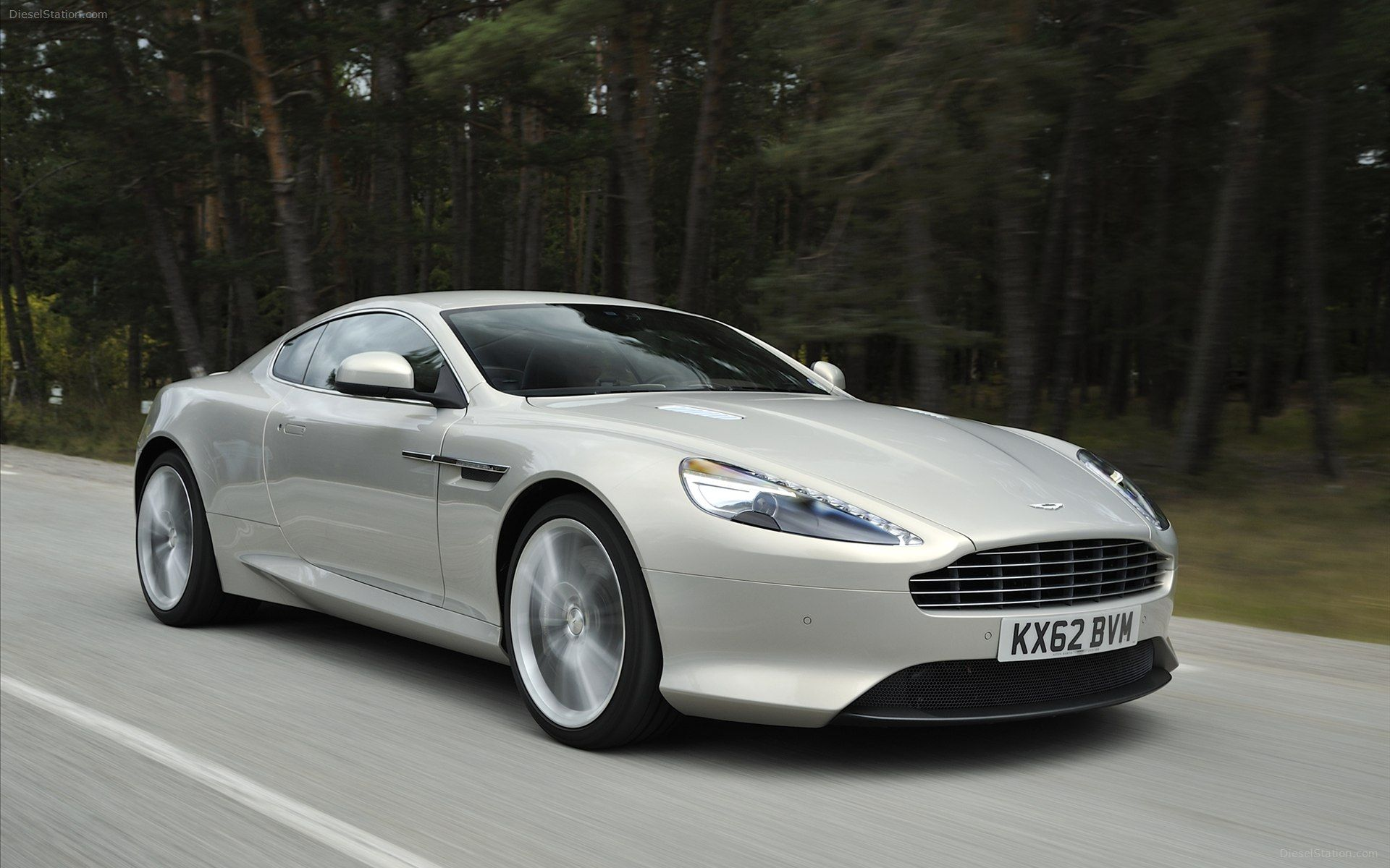 The 2013 Aston Martin DB9 a pelling Sports GT at the heart of